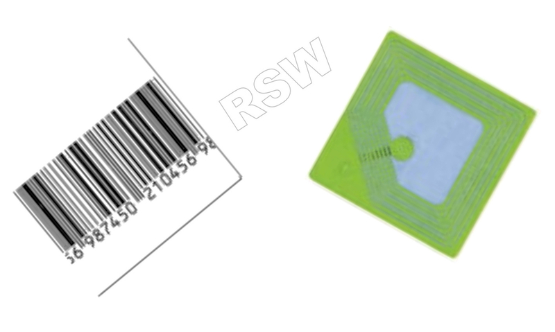 Dummy Barcode 8 2mhz Rf Label Per 20 000 Retail Security