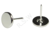 Stainless Steel Security Tag Flat Pins 16mm (Smooth)
