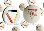 50 x RF78 Magnetic Saucer Ink Tag Including supplied Backing
